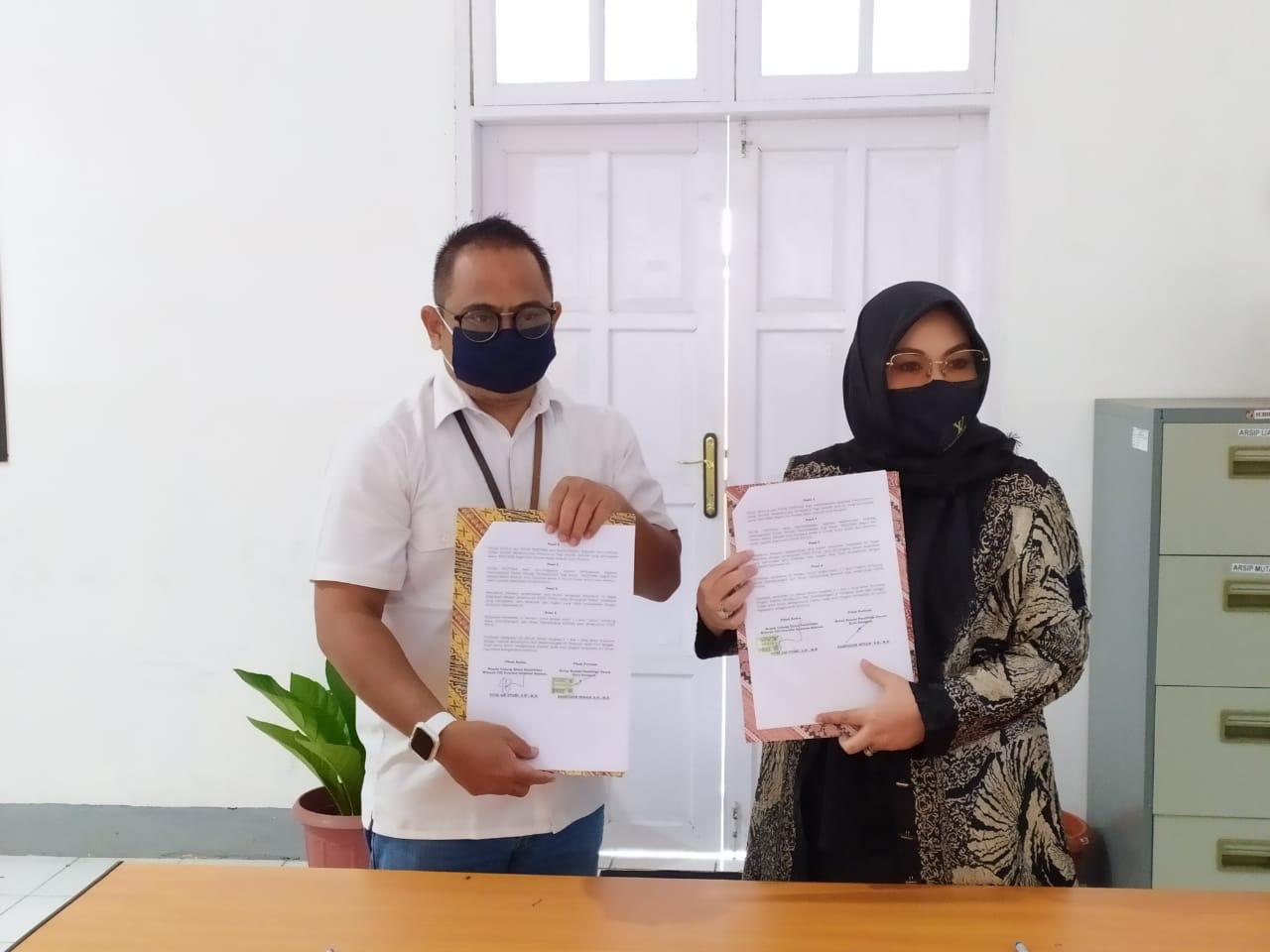 KPU Kota Parepare dan Dinas Pendidikan Teken MoU Pemutakhiran Data Pemilih Pemula