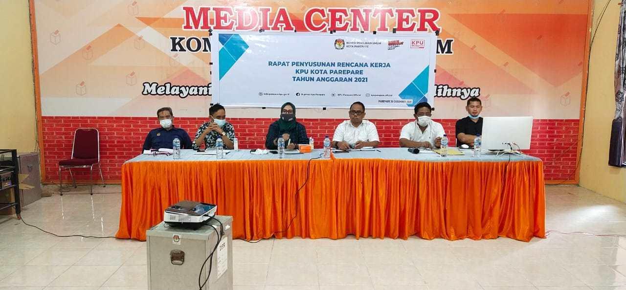 Pembahasan Renja ( Rencana Kerja ) KPU Kota Parepare 2021