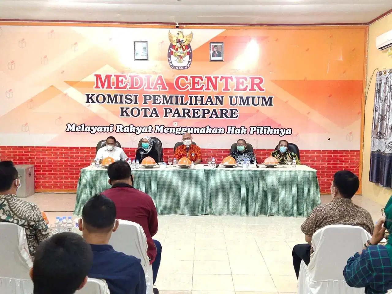 Kunjungi KPU Kota Parepare, Plt KPU RI: Jaga Solidaritas