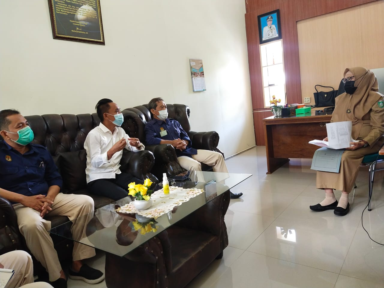 Pemerintah Kota Parepare Menerima kunjungan Bakohumas KPU Kota Parepare