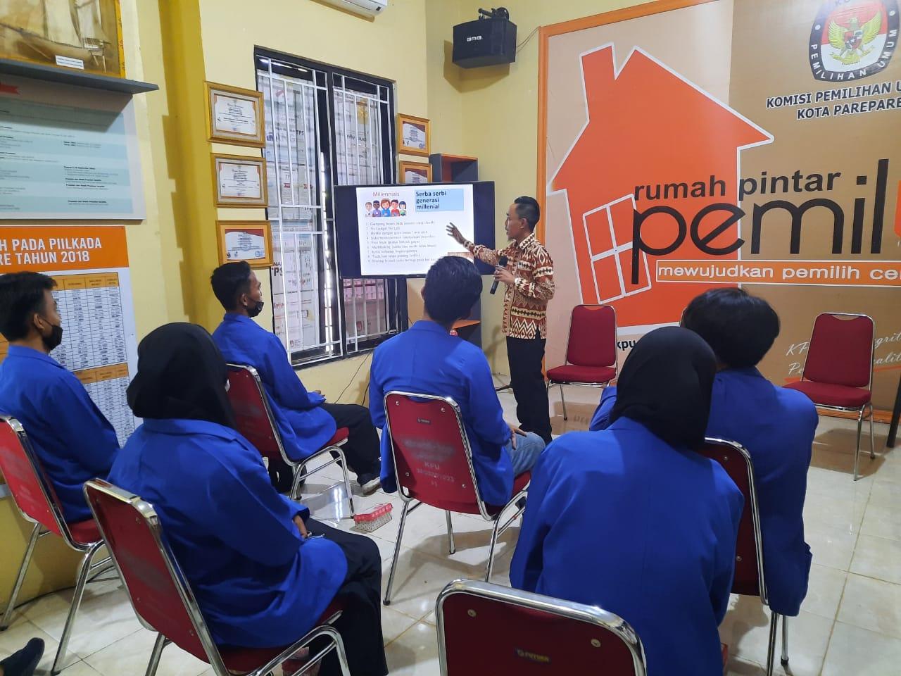 Vaksinasi Covid-19 Tahap Pertama KPU Kota Parepare